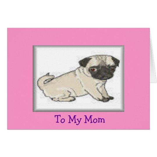 Zur Mamma Karte