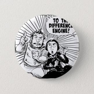 Zur Unterschied-Motor-Platte Runder Button 5,1 Cm