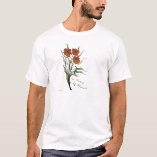 Zur Würdigung der Blumen T-Shirt