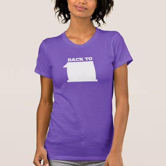 Zurück zu Quadrat eins T-Shirt
