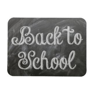 Zurück zu Schule Magnet