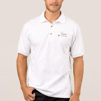 Zurückgezogenes GOLF -, Golf ist zu spielen ein Polo Shirt
