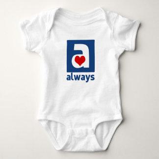 Zusammen für immer immer Familien-Baby-Overall Baby Strampler