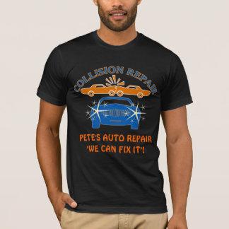 Zusammenstoß-Auto-Reparatur-T - Shirt