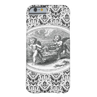 Zwei Amor-Antiken-Stich Barely There iPhone 6 Hülle