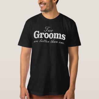 ZWEI BRÄUTIGAME SIND BESSER ALS EIN T-Shirt