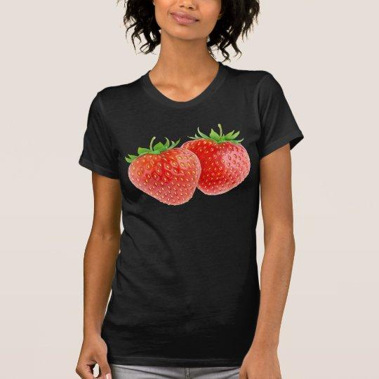 Zwei Erdbeeren T-Shirt