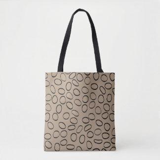 Zwei Farben zwei Seiten Tasche