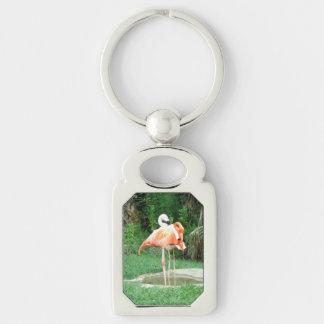 Zwei Flamingos Schlüsselanhänger
