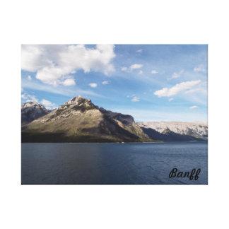 Zwei Jake Seen, Banff, Kanada Leinwanddruck