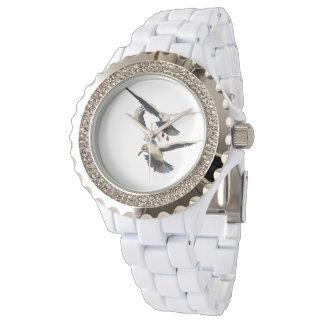 Zwei Möven Armbanduhr