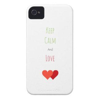 Zwei Netz-Herzen Case-Mate iPhone 4 Hülle