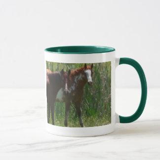 Zwei Pferde Tasse