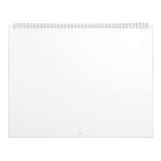 "Zwei Seiten-Kalender, enorm, 14 ¼ "" x22 "" Kalender"