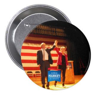 Zwei Senatoren, ein Staat Runder Button 7,6 Cm