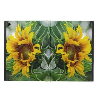 Zwei Sonnenblumen zwei Seiten