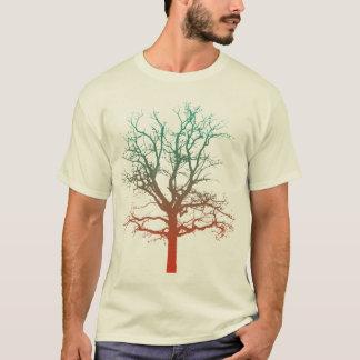 Zwei-Ton Baum T T-Shirt