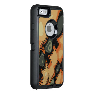 Zwei Ton-Wirbles abstraktes Muster OtterBox iPhone 6/6s Hülle