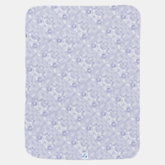 Zwei Tulpe-Blumen-Skizze im Blau widergespiegelt Puckdecke