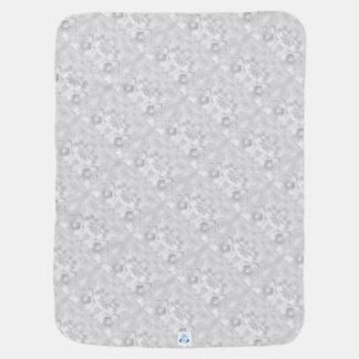 Zwei Tulpe-Blumen-Skizze im Grau Puckdecke