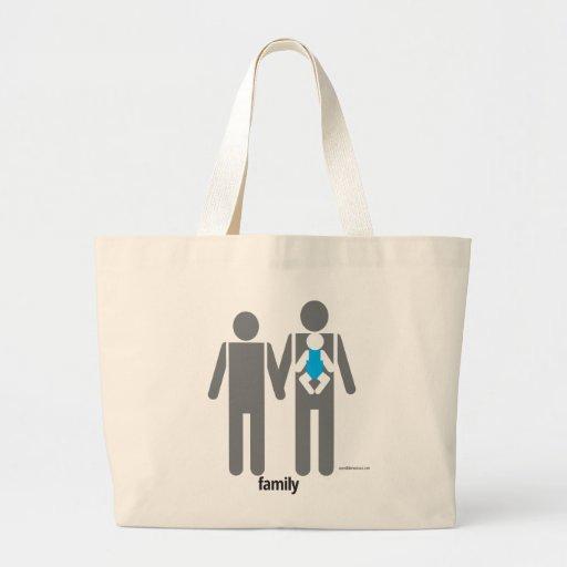 Zwei Vatis und ein Sohn Taschen