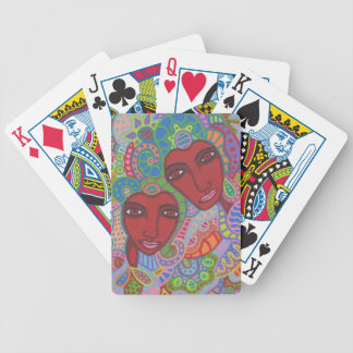 Zwei von Herzen Bicycle Spielkarten