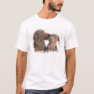Zwei Weimaraners T-Shirt