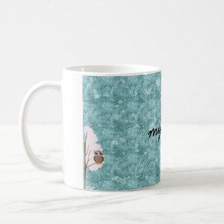 zwei Wintereulen meine Tasse Kaffeetasse