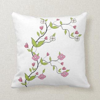 Zweig der Blumen Kissen