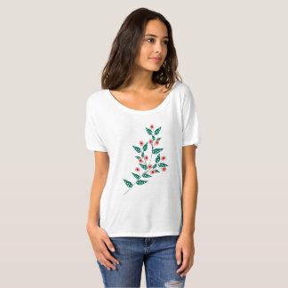Zweig der Blumen T-Shirt
