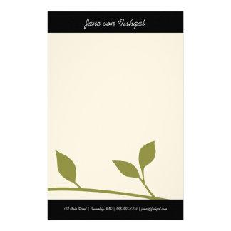 Zweig und Blatt Briefpapier