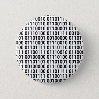 Zweiheit: I Liebe zu programmieren Runder Button 5,7 Cm