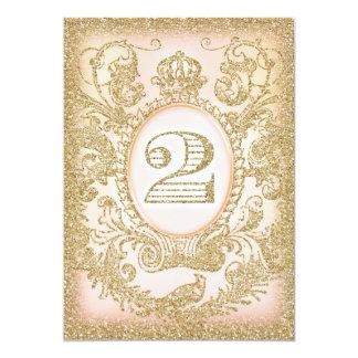 Zweite Geburtstags-einst Prinzessin 12,7 X 17,8 Cm Einladungskarte