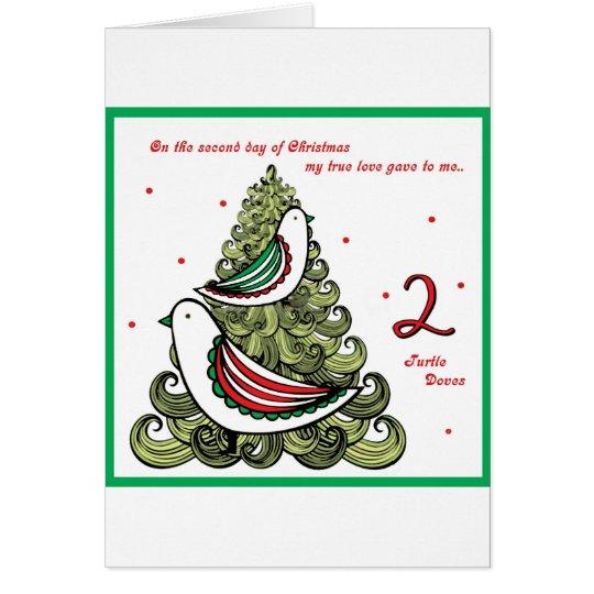 Zweiter Tag von Weihnachten Karte