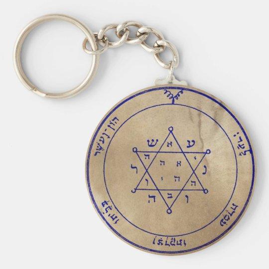 Zweites Pentagramm von Jupiter Standard Runder Schlüsselanhänger