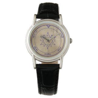 Zweites Pentagramm von Jupiter Uhr