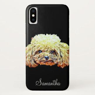 ZwergpudelhundiPhone X Fall iPhone X Hülle