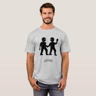 Zwillings-Tierkreis-T - Shirt