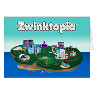 Zwinktopia Anmerkungs-Karte Karte