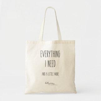 Zwischen Carpools alles benötige ich Tasche