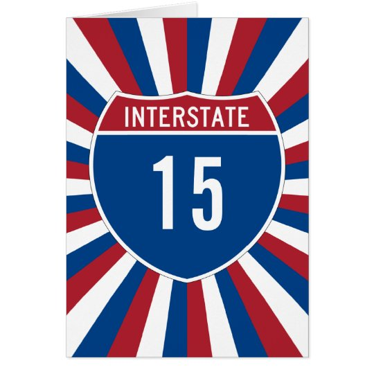 Zwischenstaatliche 15 grußkarte