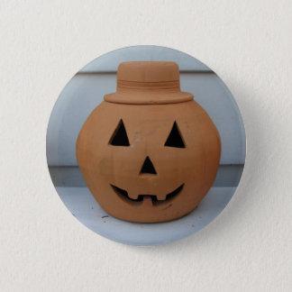 Zylinder-Kürbis-Knopf Runder Button 5,7 Cm