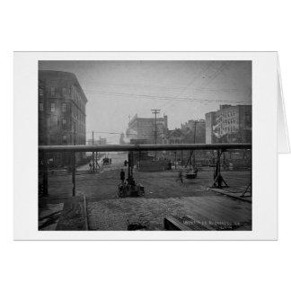Zypresse-Allee und 138. Straße New York City Karte