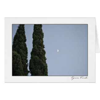 Zypresse-Mond Karte