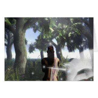 Zypresse-Waldung Karte
